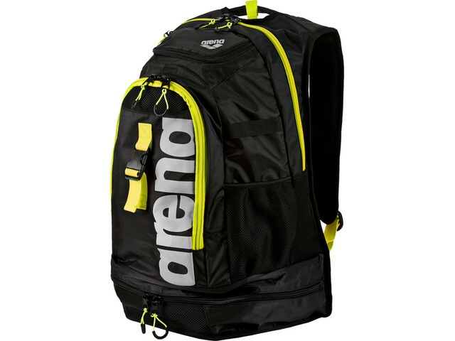 arena Fastpack 2.1 Rucksack 45l black/fluo-yellow/silver